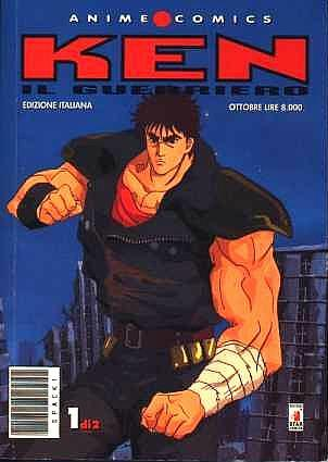 Star Comics Anime Comics Ken il Guerriero 1