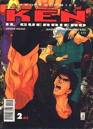 Star Comics Anime Comics Ken il Guerriero 2